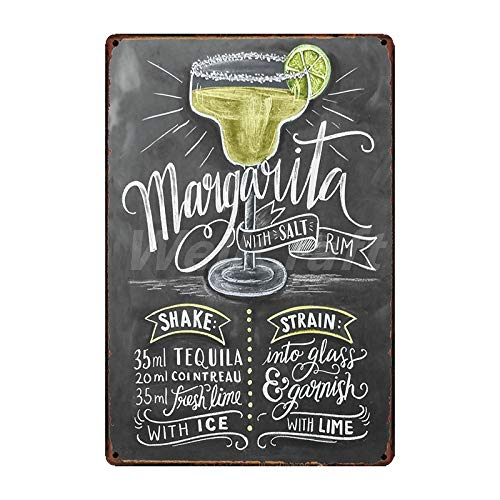ZYZRYP Coffee Cocktail Cake Tea tin Sign Wall Plaque Custom Metal Painting Antique Gift bar Pub Decoration SA-2658