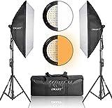 "Emart softbox lighting kit 20"" x 28"" (50cmx70cm), Professional Photography Continuous Lighting photo"