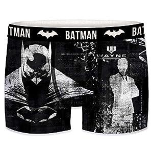 Freegun Set de Boxers Batman – microfibra-92% poliéster, 8% Elastano