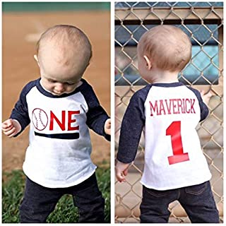 Boys 1st Birthday Baseball shirt, cake smash shirt, baseball themed party, sports 1st birthday shirt, vintage baseball party