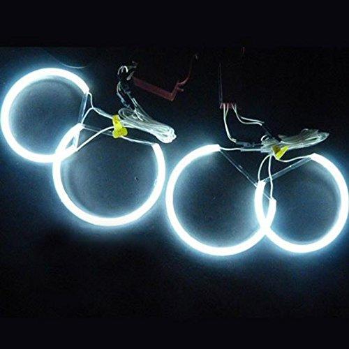 LemonBest® 7000K Super Bright White Angel Eye Halo-Ring-Licht-Lampe CCFL Für E46 E36 E39