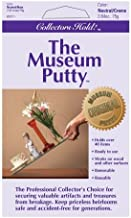 Collectors Hold Museum Putty, Non-Toxic and Non-Damaging, Removable and Reusable, Adhesive Mounting Putty, Easy to Use, Great for Wall Art, Antiques, For Use on Metal, Glass, Ceramic, Wood, 1 Pack