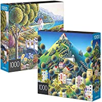 2-Pack of 1000-Piece Spin Master Jigsaw Puzzles for Adults, Families, and Kids Ages 8 and up