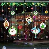 WARMWORD 2019 Feliz Navidad Casa HabitacióN Pegatina De Pared DecoracióN Mural Etiqueta Retirable Santa Vinilos Vinilo Removiblevacaciones Caricatura NiñO Habitacion Decoracion