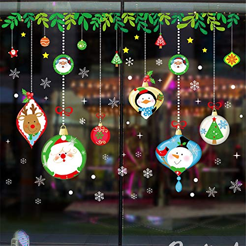 WARMWORD 2019 Feliz Navidad Casa HabitacióN Pegatina De Pared DecoracióN Mural Etiqueta...