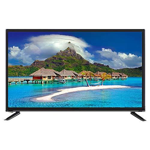 ASHATA 43 Pulgadas 4K HDTelevisor LCD de Pantalla Grande 1920 * 1080 Smart TV Soporte Network Cable + WiFi Inalámbrico con 2 Puertos USB +3 Puerto HDMI(UE)