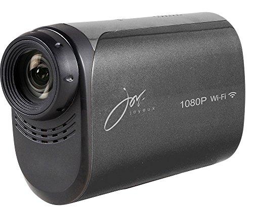 joyeux(ジョワイユ) 防水 フルハイビジョン WiFi 対応 アクションビデオカメラ ブラック JOY200BK ブラック