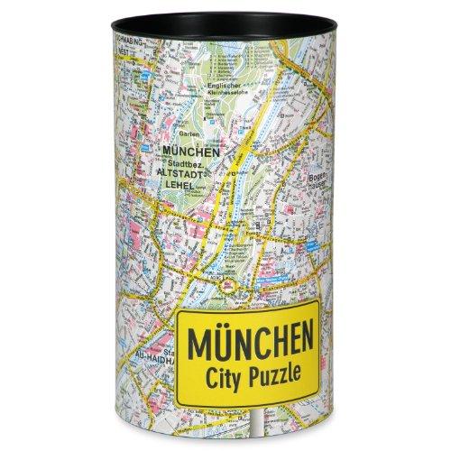 Extragoods City Puzzle München Premium Puzzle Erwachsenenpuzzle Spiele Puzzle Städtepuzzle