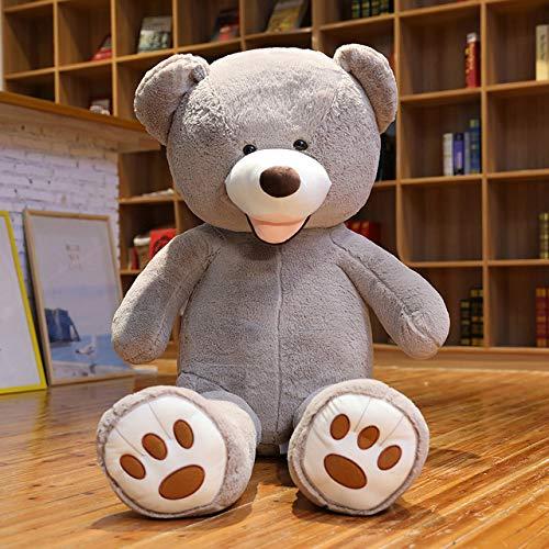Ankepwj 340cm schöne riesige amerikanische Bär Plüschtiere Kuscheltiere Teddy Doll Kissen Kinder Mädchen Valentinstag Geburtstagsgeschenk