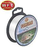 WFT Zielfisch Forelle 500m clear - Angelschnur zum Forellenangeln, Monofilschnur für Forellen,...