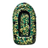 Kayak Inflatable Boat Thick wear-Resistant Fishing Boat Fast Travel Canoe, 3 People