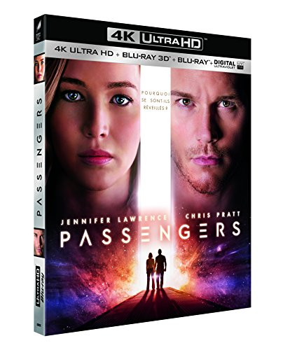 Passengers [Blu-ray 4K] [4K Ultra HD + Blu-ray 3D + Blu-ray + Digital UltraViolet]
