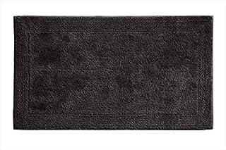 Grund Puro Series 100% Organic Cotton Reversible Bath Rug, 17-inch by 24-inch, Graphite
