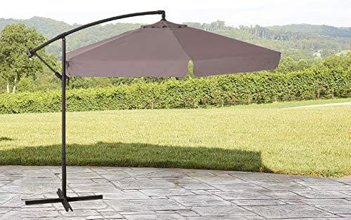 ombrellone da giardino 5 metri GARDENIA Ombrellone da Giardino 4x4 a Palo Decentrato