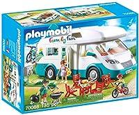 PLAYMOBIL ファミリーキャンパー車プレイセット