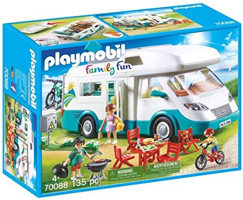 PLAYMOBIL Family Fun Caravana de Verano
