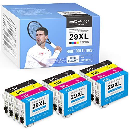 myCartridge SUPRINT 29XL Cartuchos de tinta de repuesto para Epson 29 29XL compatibles con Expression Home XP-235 XP-240 XP-245 XP-247 XP-330 XP-332 XP-335 XP-340 XP-342 XP-345 XP-430 XP-432 XP-435