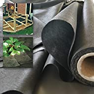 Weed Control Fabric Is Sold Per Meter, 1 Meter Long 1.5 Meter Wide Low Maintenance Gardening Weed Membrane An Economical Membrane Which Will Prevent Most Rhizome Growth From Penetrating From Below No Need For Chemicals When Installing, Our Weed Membr...