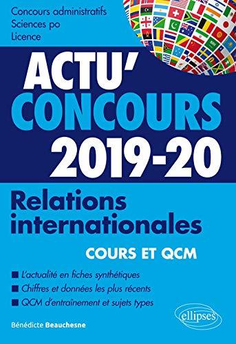 Relations internationales 2019-2020