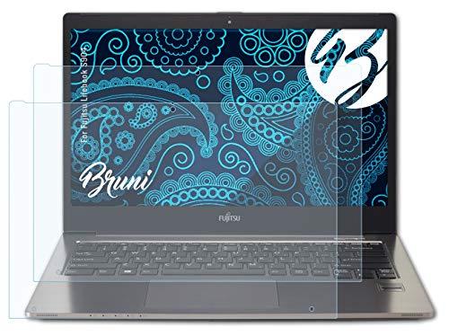 Bruni Schutzfolie kompatibel mit Fujitsu Lifebook S904 Folie, glasklare Bildschirmschutzfolie (2X)