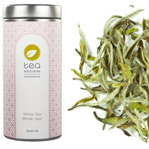tea exclusive - White Tea Whole Leaf, Weisser Tee, China, Dose 25g