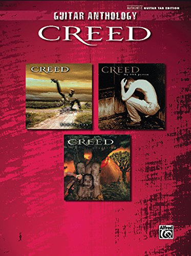 Guitar Anthology Creed: Authentic Guitar Tab