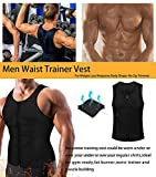 Zoom IMG-2 memoryee men sauna sweat zipper