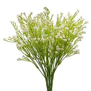 JWCTECH Artificial Plants Flowers Artificial Plants Greenery Artificial Flowers