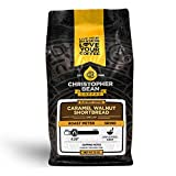 Christopher Bean Coffee - Caramel Walnut Shortbread Flavored Coffee, (Decaf Ground) 100% Arabica, No Sugar, No Fats, Made with Non-GMO Flavorings, 12-Ounce Bag of Decaf Ground Coffee