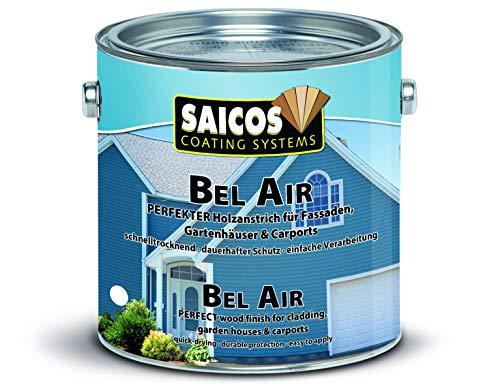 Saicos Colour GmbH 701 7230 Bel Air Holzspezialanstrich, schwedenrot, 10 Liter