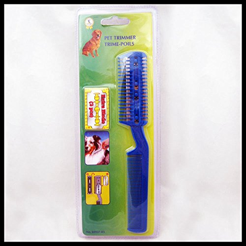 Tiffy Rub Cool Pet Dog Cat Hair Trimmer with Comb + 2 Razor Cutting Grooming Cut Care New Save