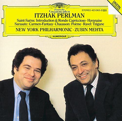 Itzhak Perlman, Zubin Mehta & New York Philharmonic Orchestra