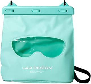 LAQ DESiGN Perspective Waterproof Storage Bag, Dry Bag with Shoulder Strap for Kayaking, Beach Waterproof Bag, Secure Closure to Keep Your Valuables Dry