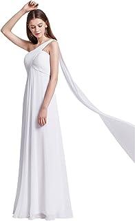 f373b6a3a78 Ever-Pretty HE09816 Robe de Soirée Longue Seule-épaule Femme