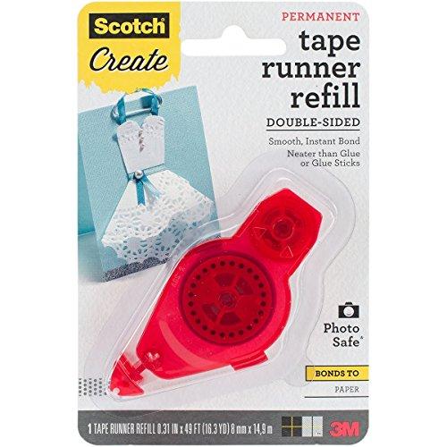 Scotch Tape Runner Refill, .31 in x 16.3 yd (055-R-CFT)
