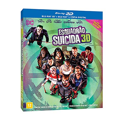 Esquadrao Suicida [Blu-ray]3D