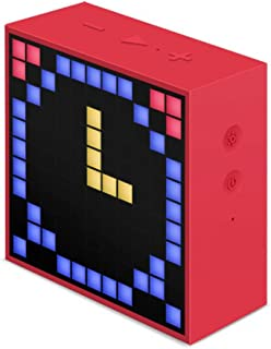 Divoom 840500101322 Pixel Art Speakers - Red (Pack of 1)