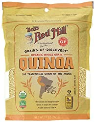 Organic whole grain white quinoa A good source of fiber Pre-rinsed and ready to cook Great in soups and salads A nutritious alternative to couscous and white rice in many recipes