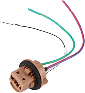 Plug Wire Harness, LED Bulb Light Lamp Wire Harness Pigtail Female Socket Connector