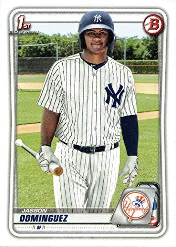 2020 Bowman Prospects Baseball #BP-8 Jasson Dominguez Pre-Rookie Card - 1st Bowman Card