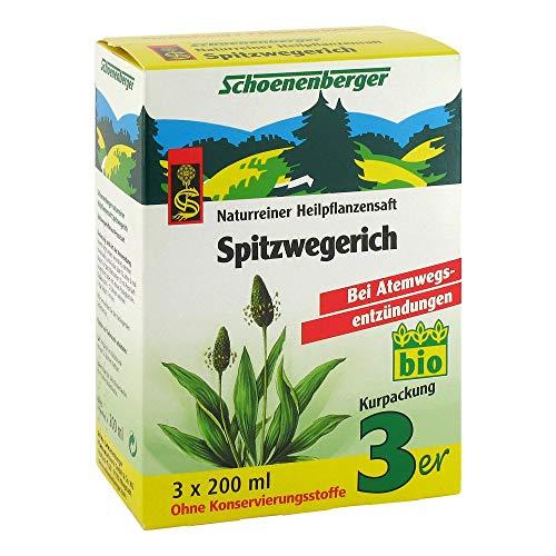 SPITZWEGERICHSAFT Schoenenberger 3X200 ml