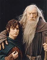 b直輸入、大きな写真「ロード・オブ・ザ・リング」イライジャ・ウッド 、イアン・マッケラン、 The Lord Of The Rings 10172