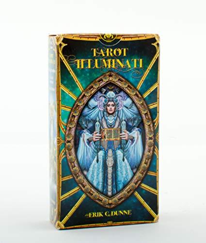 Lo Scarabeo EX205 Tarot Illuminati Tarotkarten, Mehrfarbig, 6.8 x 12.2 x 3 cm