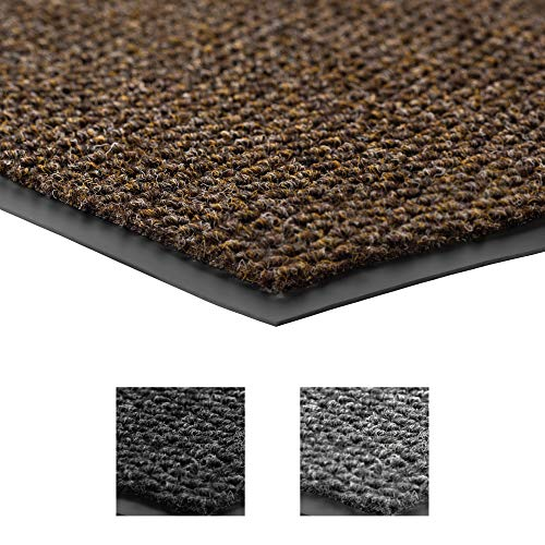 Notrax 136 Polynib Entrance Mat, for Home or Office, 3' X 4' Brown