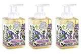 Michel Design Works Foaming Hand Soap, 17.8-Fluid Ounce, Lavender Rosemary - 3-PACK