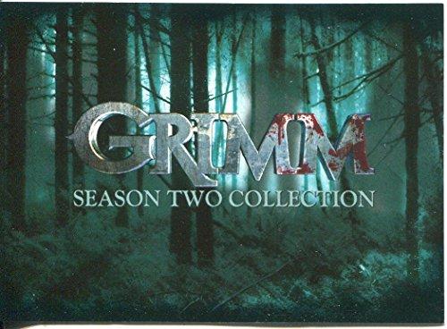 Grimm Season 2 Jeu complet de 72 cartes de base