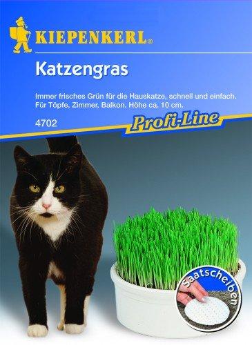 Kiepenkerl Katzengras Saatscheibe