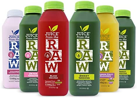 3 Day Juice Cleanse with Probiotics by Juice From the RAW Improve Digestive System Lose Weight product image