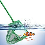 Sunfauo Salabre Pesca Limpiador Cristales Acuario Grava Limpiador Las Redes de Pesca Aspirador de Grava para pecera Decoraciones y Accesorios para peceras 40cm
