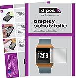 dipos I 6X Schutzfolie klar kompatibel mit Fitbit Ionic Folie Bildschirmschutzfolie